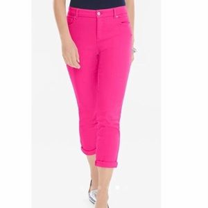 Chico's Skinny Jeans Pink Small